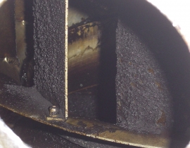 Heavy Carbon Build Up On Fan Blades