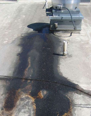Grease saturation leads to leaking roofs, voided warranties, EPA violations, safety concerns, and increased risk of fire.
